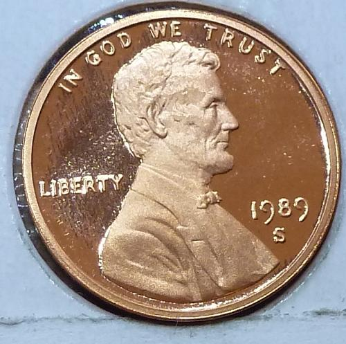 1989-S  Gem Proof Cent Memorial Lincoln Cent (119)