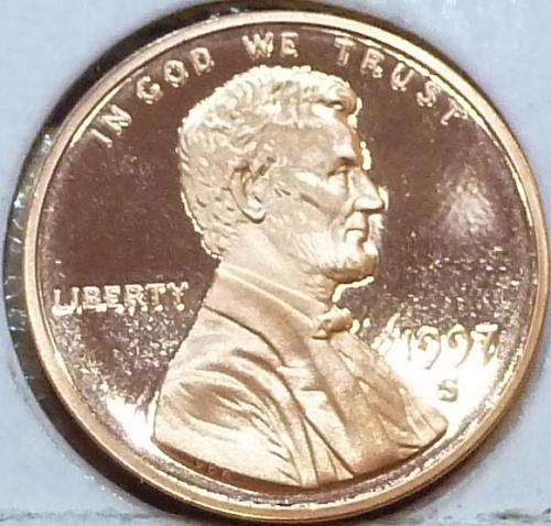 1997-S  Gem Proof Cent Memorial Lincoln Cent (111)