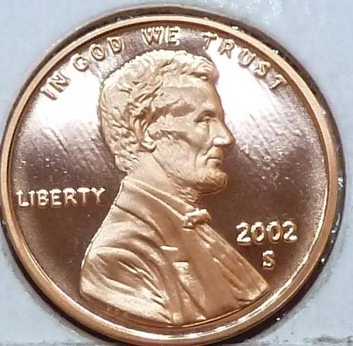 2002-S  Gem Proof Cent Memorial Lincoln Cent (106)