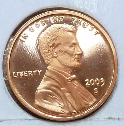 2003-S  Gem Proof Cent Memorial Lincoln Cent (105)