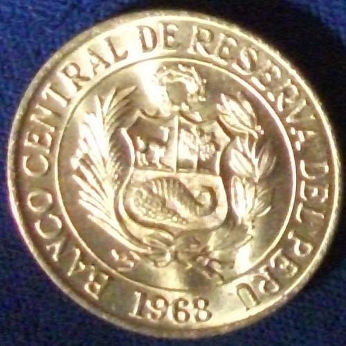 1968 Peru Sol BU