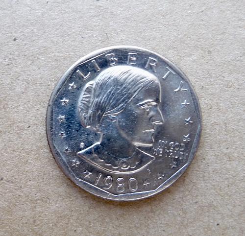 1980-S S B Anthony Dollar