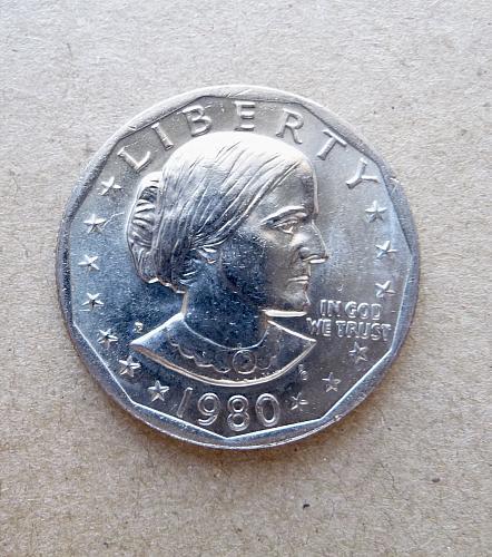 1980-P S B Anthony Dollar