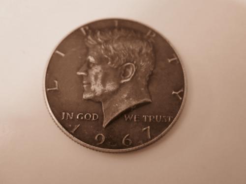 40% SILVER  1967 Kennedy Half Dollars