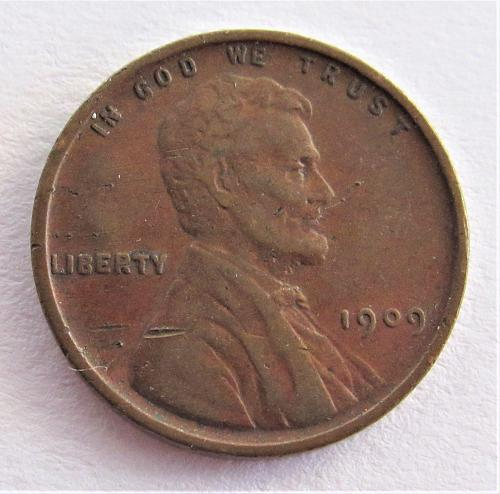 1909 1 Cent - Lincoln Wheat Cent