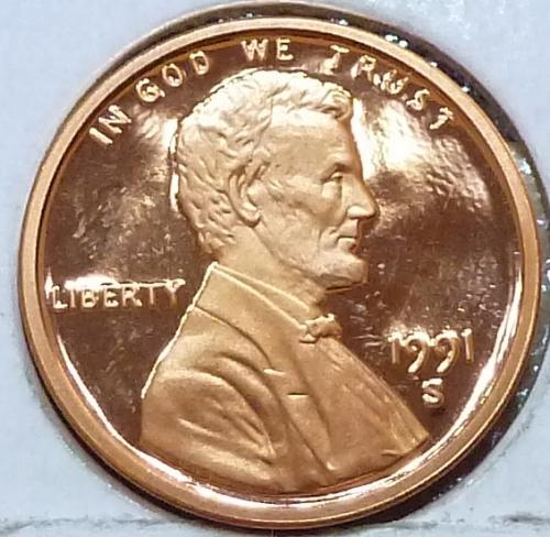1991-S  Gem Proof Cent Memorial Lincoln Cent (223-U)