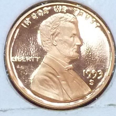 1993-S  Gem Proof Cent Memorial Lincoln Cent (224-C)