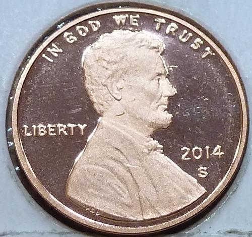 2015-S  Gem Proof Cent Shield Lincoln Cent (223-E)