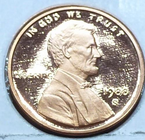 1988-S  Gem Proof Cent Memorial Lincoln Cent (223-R)