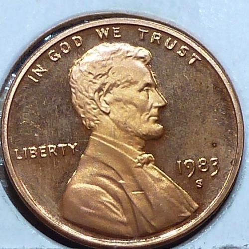 1983-S  Gem Proof Cent Memorial Lincoln Cent (224-U)