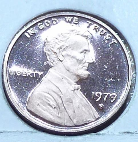 1979-Filled S  Gem Proof Cent Memorial Lincoln Cent (223-B)