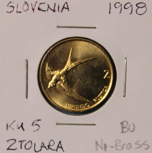 Slovenia 1998 2 Tolara