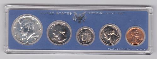 1967 UNITED STATES SPECIAL MINT SET IN ORIGINAL CASE NO BOX