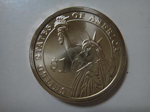 2010-P Lincoln Position B Satin Finish Presidential Dollar MS-65 (GEM)