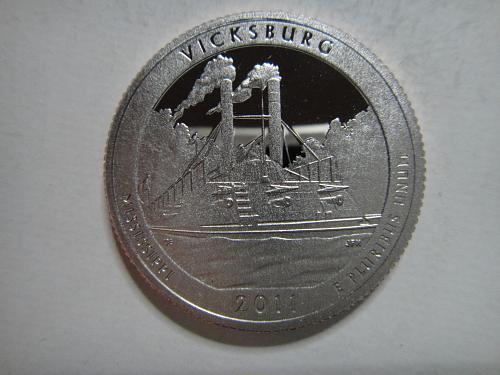 2011-S Mississippi-Vicksburg Clad Proof-66 (GEM+)