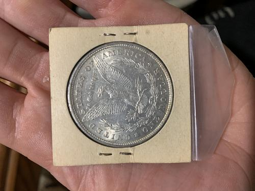 1878 Uncirculated 8 Tail Feathers Morgan Dollar