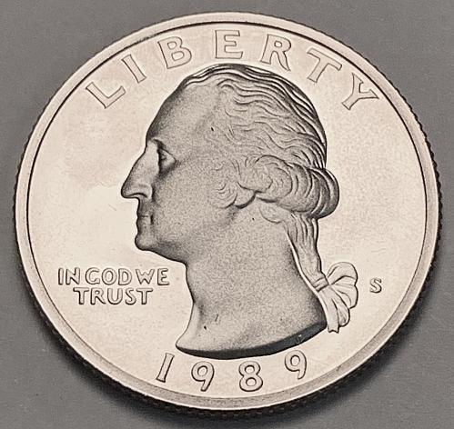 1989-S Proof Washington Quarter [BSWQ 158]