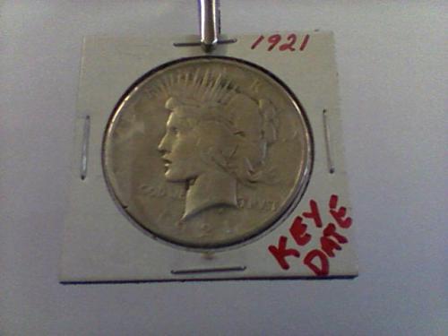 1921 Peace Dollar (Key Date)