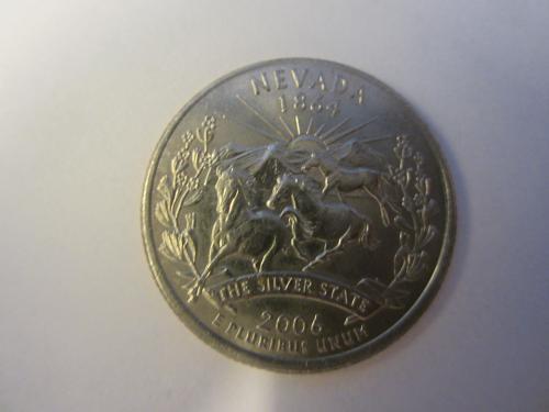 2006 P Nevada State Quarter Quarter