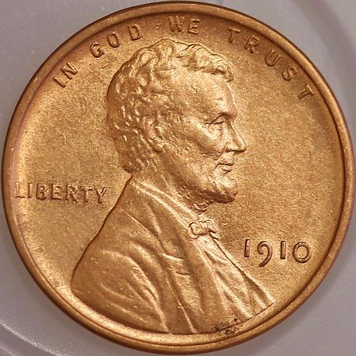 1910 P Lincoln Wheat Cent - Gem BU / MS / UNC