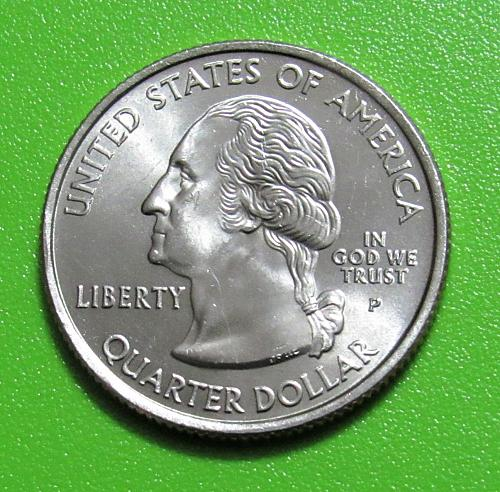 2007-P 25 Cents - Montana State Quarter - Uncirculated from Mint Roll