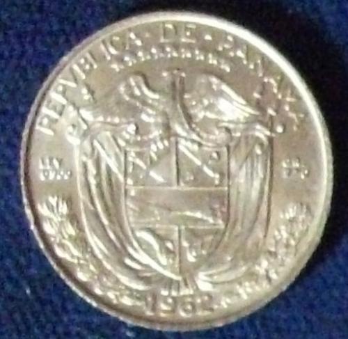1962 Panama 1/10 Balboa UNC