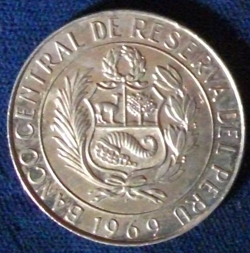 1969 Peru 10 Soles UNC