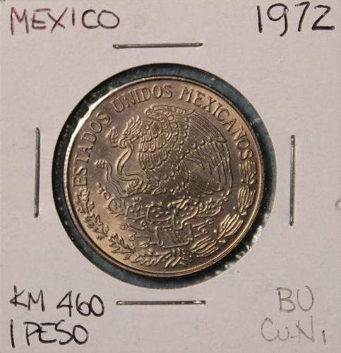 Mexico 1972 1 Peso
