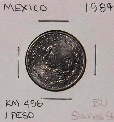 Mexico 1984 1 Peso