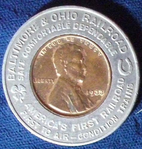 1933 B&O Railroad, Chicago's World Fair VF
