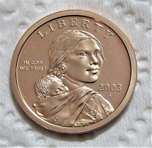 2003-S $1 Native American Dollar - Cameo Proof