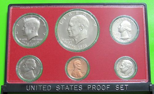 1976-S United States Proof Set - Original Box