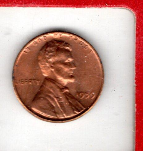 1959 P Lincoln Memorial Cent Small Cents - 6