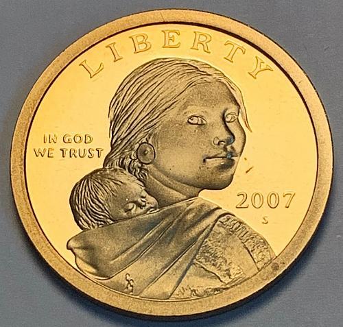 2007-S Proof Sacagawea Dollar [FPM 49]
