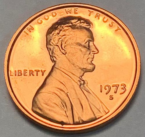 1973-S Proof Lincoln Memorial Cent [LC 41]