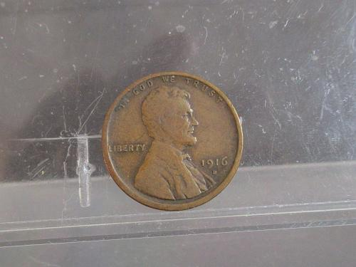 1916 D Lincoln Wheat Cent   #2