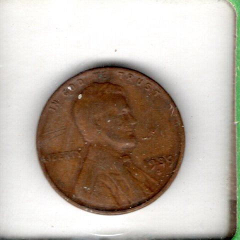 1929 S Lincoln Wheat Cent Small Cents - 6
