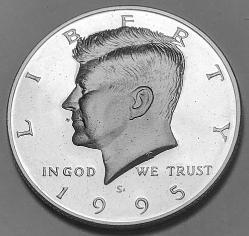 1995-S Silver Proof Kennedy Half Dollar [IKS 23]