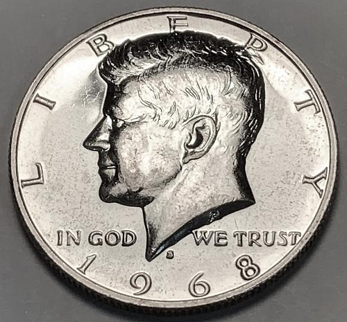 1968-S 40% Silver Proof Kennedy Half Dollar [IKS 30]