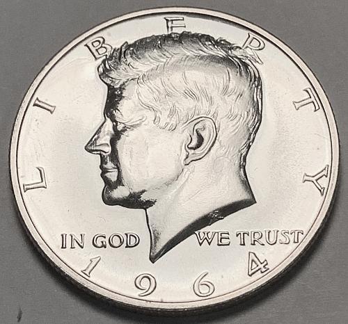 1964 Silver Proof Kennedy Half Dollar [IKS 31]