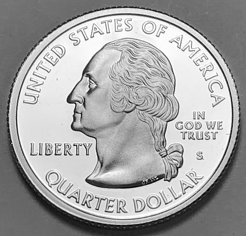 2002-S Silver Proof Washington Quarter: 50 States- Indiana [BSWQ 237]
