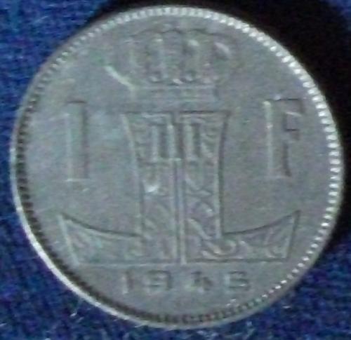 1945 Belgium Franc UNC