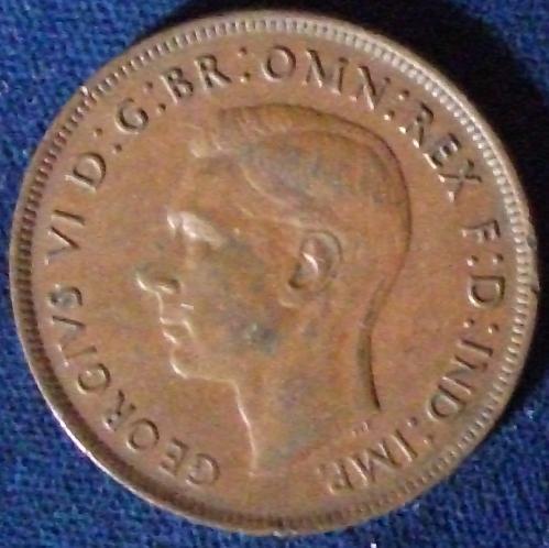 1938(m) Australia Penny XF