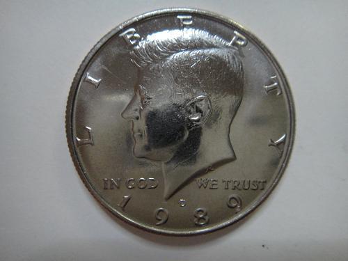 1989-D Kennedy Half Dollar MS-65 (GEM)