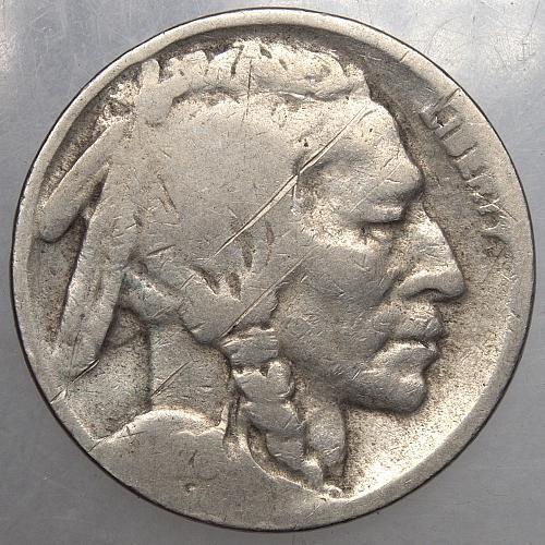 1928 D Buffalo Nickel#6
