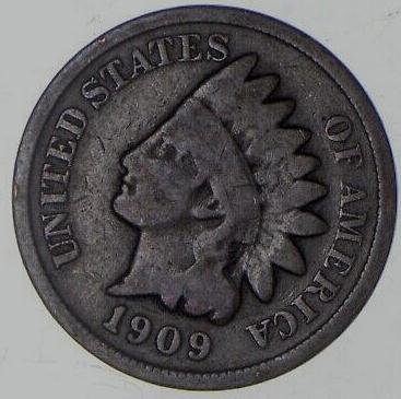 1909 INDIAN HEAD CENT - #2
