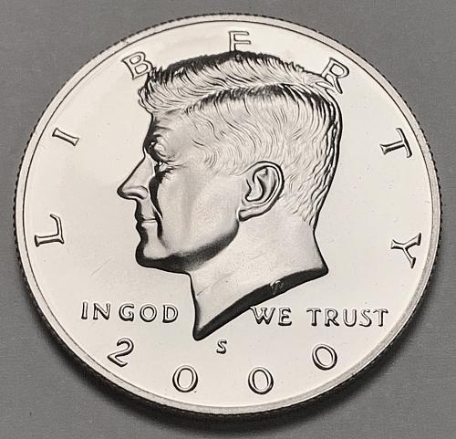 2000-S Proof Kennedy Half Dollar [IKS 27]