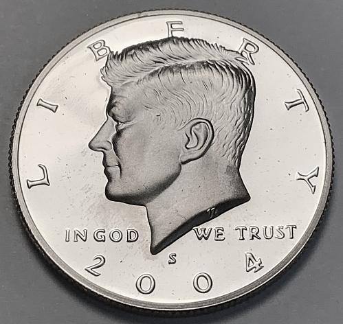 2004-S Proof Kennedy Half Dollar [IKS 28]