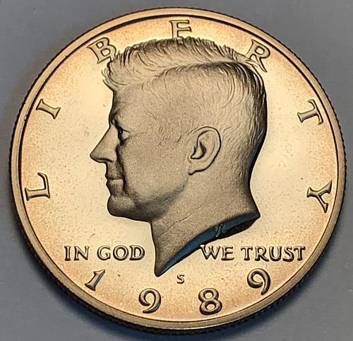 1989-S Proof Kennedy Half Dollar [IKS 40]
