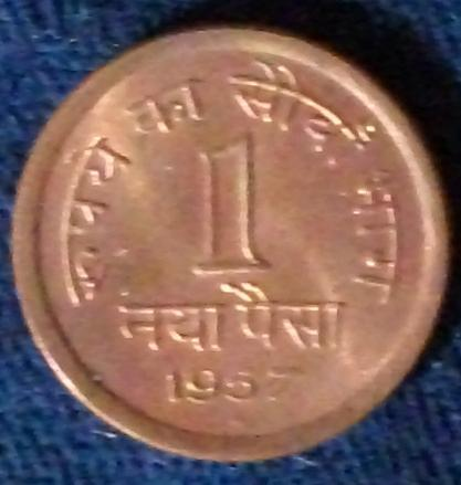 1957(Hd) India/Republic Naya Paise UNC